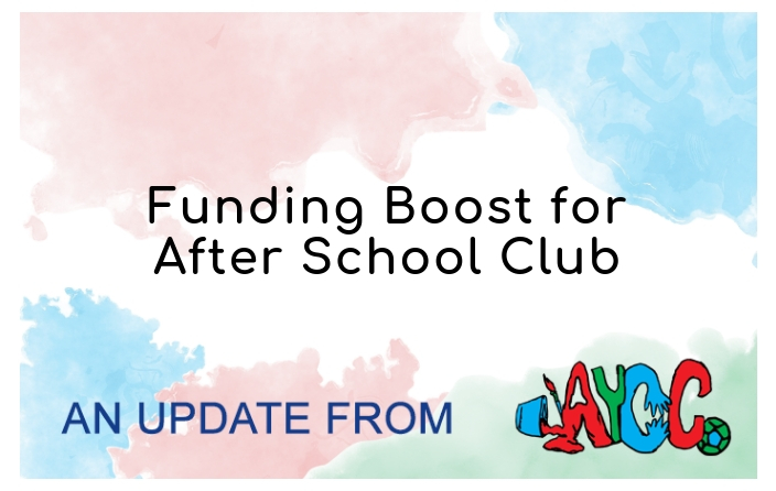 Funding Boost For After School Club