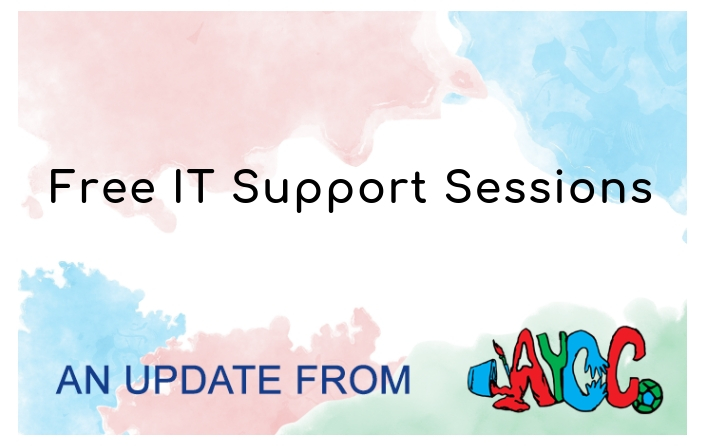 AYCC Press Release:   Free IT Support Sessions