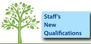 Staff's New Qualifications
