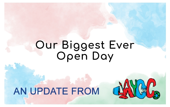 Our biggest ever Open Day